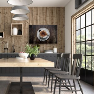 Quadro Decorativo - Café com Chantilly