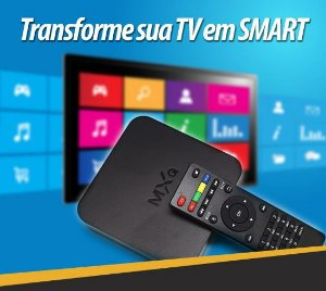 Conversor Tv Box = Transforme sua Tv em Smart
