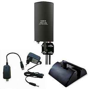 Antena Digital MXT com amplificador