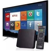 TRANSFORME SUA TV EM SMART TV COM AQUARIO BOX ANDROID STV-2000