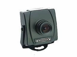 Mini câmera CCD 1/4 lente 2,4mm