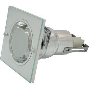 Spot embutir p/1 lâmpada de 15w fluorescente