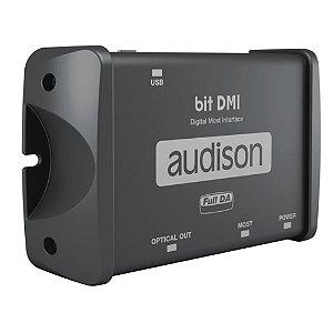 Interface de conexão rede MOST Audison bit DMI