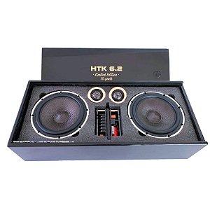 Kit 2 Vias 6 Polegadas Audiophonic Htech HTK 6.2