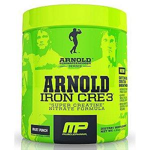 Creatina Iron Cre3 (126g) - Arnold Schwarzenegger