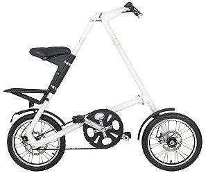 Bicicleta Dobravel Cicla - Estilo Design Praticidade (Branca)