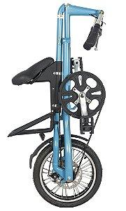 Bicicleta Dobravel Cicla - Estilo Design Praticidade (Blue)