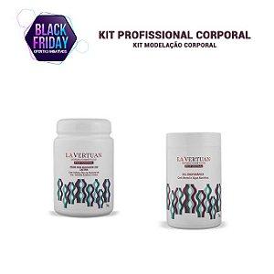 KIT PROFISSIONAL CORPORAL - Creme para Massagem com Cafeína  1kg + Gel Crioterápico 1kg