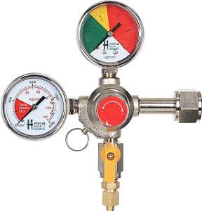 Regulador de Pressão p/ CO2 - 1 via