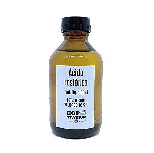 Acido Fosfórico 85% Alimentício 100ml