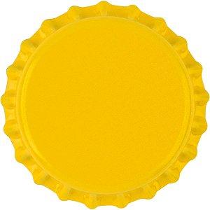 Tampinha Pry-off (50un) - Amarelo Titânio