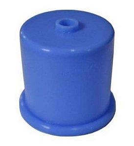 Tampão Azul Silicone p/ Galão 20L