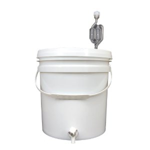 Balde Fermentador 20L c/ Torneira Simples e Airlock