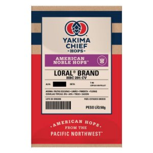 Lúpulo YCH Hops American Noble LORAL - 50g