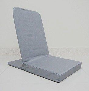 Cadeira De Meditação - Caminhos Do Yoga (Cinza)
