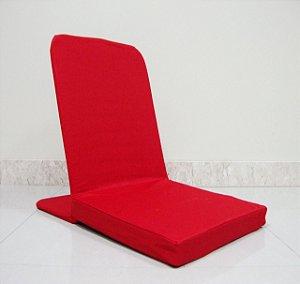 Cadeira De Meditação - Caminhos Do Yoga (Vermelha)