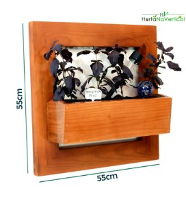 Horta na Vertical + 1 Vaso de plantio direto - Sem Tela