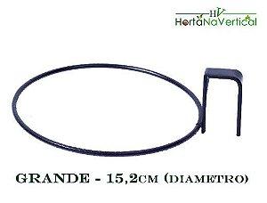 Suporte em ferro redondo para vasos auto-irrigáveis - Grande - N3