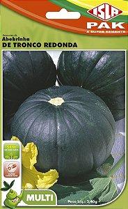 ABOBRINHA DE TRONCO REDONDA - Semente para sua horta - Isla Super Pack