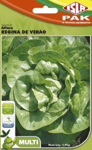ALFACE REGINA DE VERAO - Semente para sua horta - Isla Multi Pack