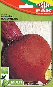 BETERRABA MARAVILHA - Semente para sua horta - Isla Multi Pack