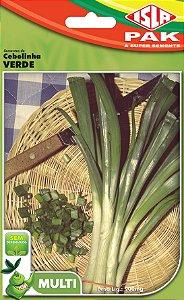 CEBOLINHA VERDE - Semente para sua horta - Isla Multi Pack