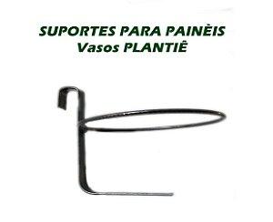 Suporte em ferro redondo para vasos PLANTIÊ de painéis