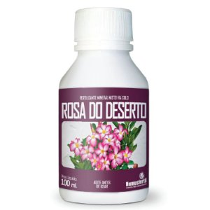 Fertilizante Liquido para Rosa do Deserto - Humus Fertil - 100ml