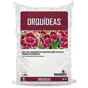 Substrato para Orquídeas - Humus Fertil - 1,2 Kg