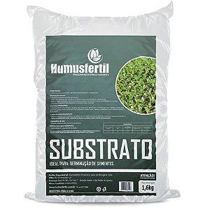 Substrato para Germinação de Hortas e Jardins - Humus Fertil - 1,6 Kg
