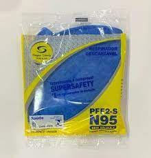 KIT Máscara PFF2 N95 SuperSafety  C/ 20 UN
