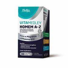 Vitamedley Homem  A-Z 30cp