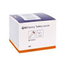 Lancetas BD Sentry Safety Lancet avulso 1 un