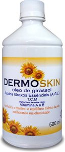 Dermoskin Oleo de Girassol 500ml