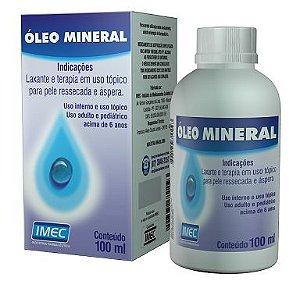 Óleo Mineral 100ml IMEC