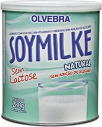 Soymilke 280g Natural Sem Lactose e Açucar