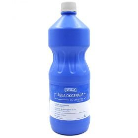 Água oxigenada 10 volumes 1 litro Farmax