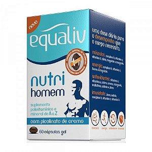 Equaliv Nutri Homem com Picolinato de Cromo 60 cápsulas gel