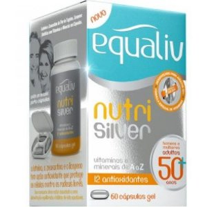 Equaliv Nutri Silver 60 cápsulas gel adultos 50+