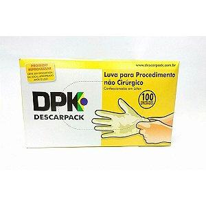 Luva para Procedimento Não Cirúrgico Látex 100 unidades Descarpack
