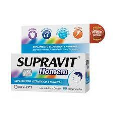 Supravit Homem 30 Comprimidos  Kley Hertz