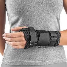 Órtose Comfort Air Mão Direita Cor Preta Hidrolight