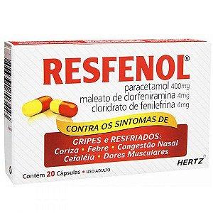 Resfenol Antigripal 20 Cápulas Kley Hertz