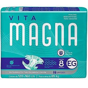 Fralda Descartável Adulto Vita Magna 8 unidades