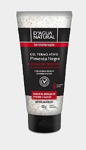 Gel Termo Ativo Pimenta Negra D'água Natural