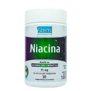 Niacina 35 mg e 30 comprimidos Stem