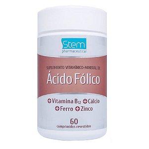 Ácido Fólico 60 compridos Stem