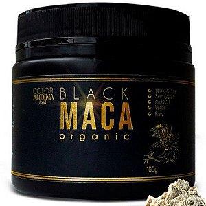 Black Maca Farinha Organica 100 g