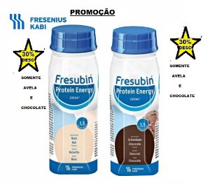 Fresubin PROT.ENERGY (VALIDADE CURTA)AVELA/CHOCOLATE