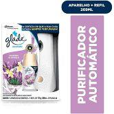 Glade Purificador de Ar Aparelho Automatic (Promoção Pilha + Refil Spray Lavanda & Vanilla 175g) - Glade